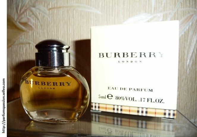 burberry flacons miniatures parfums. Black Bedroom Furniture Sets. Home Design Ideas
